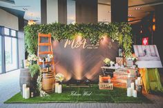Wedding backdrop photobooth decor ideas for 2019 Wedding Wall, Wedding Photo Booth, Wedding Stage, Wedding Show, Rustic Wedding, Wedding Expo Booth, Decor Photobooth, Backdrop Decorations, Photo Booth Backdrop