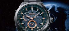 Seiko lança Astron – o primeiro relógio GPS solar do mundo