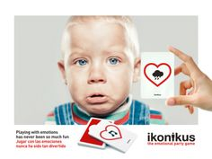 Ikonikus: Feeling Sad / Triste... Jugar con las emociones nunca ha sido tan divertido Playing with emotions has never been so much fun BrainPicnic.com Ikonikus.com