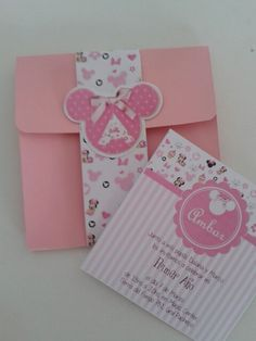 Invitacion minnie