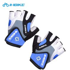 INBIKE Cycling Gloves Male Men Half Finger Gel Pad Sport Gloves Mountain Road Bike Bicycle Gloves Fitness Moto Guantes 30