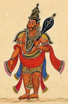 Indian Epics: Images and PDE Epics: Image: Bhima