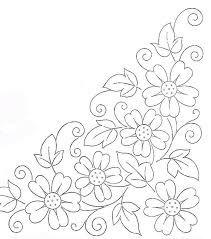 Картинки по запросу riscos para bordar flores