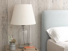 The elegant Apothecary glass lamp was inspired by an old apothecary jar we saw in a chemist in India. It comes with a gorgeous cream linen shade.