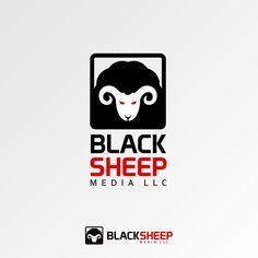 logo for Black Sheep Media LLC by aerith