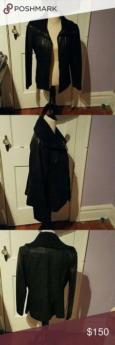 Women's leather coat Women's leather coat, great condition, never worn, Jones New York Jackets & Coats