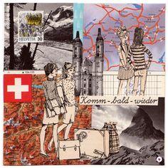 Ferienmusterreise - Miss Herzfrisch ♥ Papier * Kunst * DesignMiss Herzfrisch ♥ Papier * Kunst * Design