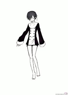 the many outfits of ciel x3