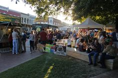 First Friday event, downtown Bentonville Square. Every First Friday of the month. Bentonville, AR.