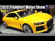 2013 Frankfurt Motor Show Day 1: Mercedes, Audi, Porsche, & A Lot More!