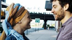 """The key to your life is gratitude"" Malin Åkerman & Josh Radnor in happythankyoumoreplease"