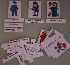 Školní hrátky: Povolání - čtení s porozuměním