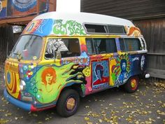 campervan rental: Groovy Motorhome Paint Jobs