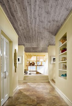 Wood Ceiling - Hide Popcorn