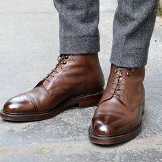 Leather Boots by Crockett & Jones