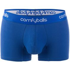 All Blue Trunks with PackageFront