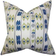 "Delano Geometric Pillow Tamanho: 18 ""x18 $ 41,99 por Wayfair"