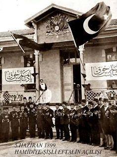 5 HAZİRAN 1899 Hamidiye Şişli Etfal ' in açılışı.
