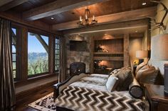 Rustic mountain retreat boasts lodge style appeal in Big Sky, Montana