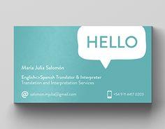 Interpreter translator business card business cards business resultado de imagem para business card translator colourmoves