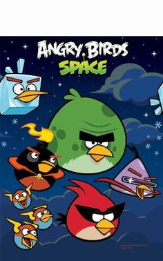 Angry Birds Space Paper Table Cloth - Listing price: $11.99 Now: $9.99 + Free Shipping