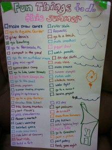 Summer Bucket List Ideas for Kids 2013