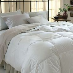 Simple Luxury Down Alternative White Comforter  #WalmartGreen SAVE ON THE HEATING BILL AND SNUGGLE UNDER THE COVERS TO STAY WARM