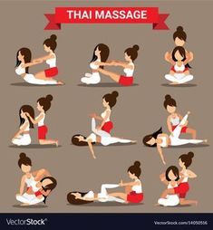 Massage And Healthcare Infographics Royalty Free Vector- benjamin delmas Massage Tips, Thai Yoga Massage, Massage Benefits, Good Massage, Massage Therapy, Technique Massage, Acupressure Treatment, Reflexology Massage, Back Pain