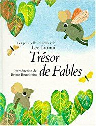 """Le tapuscrit du conte """"L'arbre-alphabet"""" extrait du livre de fables """"Trésor de fables"""" de Léo Lionni, qui n'est désormais plus édité (et quasi introuvable)."""