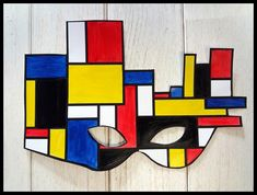 Piet Mondrian, Keith Haring, Line Lesson, Illusion Drawings, Miro, Ecole Art, Art Plastique, Mardi Gras, Illusions