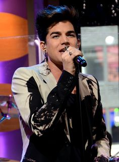 Adam Lambert on Good Morning America. This is what he wore in CM#Repin By:Pinterest++ for iPad#