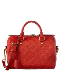 LOUIS VUITTON Louis Vuitton Cherry Monogram Empreinte Leather Speedy 25  Bandouliere .  louisvuitton   01beb81f58d18