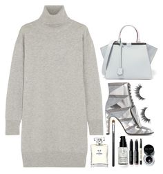 """""""Untitled #338"""" by zada ❤ liked on Polyvore featuring Maison Margiela, Sergio Rossi, Fendi, Chanel, Bobbi Brown Cosmetics and MAC Cosmetics"""
