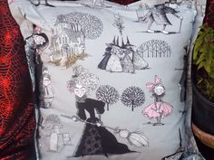Ghastlies by Alexander Henry, cushion cover.