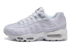 Nike Air Max 95 Pure White Black OG QS Stussy Men Shoes 609048-110