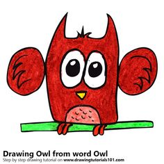 Owl from word Owl