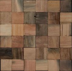 Wood tile 12x12. Fun for a Study, Entry, or Dining Room floor accent