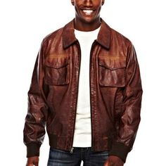 7f8f3940789 Leather Jackets For Men Jcpenney - The best identifier of having a  gentleman that is dressed is a jacket. These leather coa
