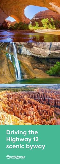 """Here's why Highway 12 is called a """"Journey Through Time Scenic Byway"""" 124 miles of sandstone cliffs and ancient settlements Utah Vacation, Vacation Places, Vacation Trips, Vacation Spots, Places To Travel, Places To See, Travel Destinations, Family Vacations, Cruise Vacation"""