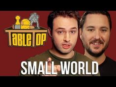 Table Top, Episode 1: Small World: Wil Wheaton, Jenna Busch, Grant Imahara, Sean Plott.