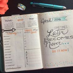 Finally, finished April's dashboard in my bullet journal with the same fun prompts as last month's. I kept March's color theme, but emphasizing the coral-orange color. I'm loving these dotes. I think I'll repeat them in my April's dailies and weeklies. Happy Friday, Everyone! #bulletjournal #bulletjournaling #bulletjournaladdicts #bulletjournalcommunity #journal #journaling #colors #colorful #dotes #planner #planning #plannergirl #plannerlove #planneraddict #plannernerd #plannercommunit...