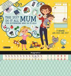 Do It All Mum Family Planner 2016-2017
