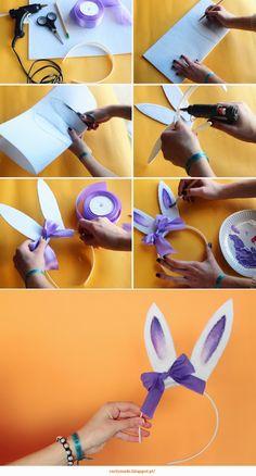 Curly Made: DIY Bunny Headband