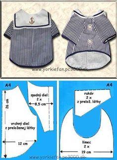 Dog Coat pattern Dog clothes patterns for sewing Small dog clothes pattern Dog Jacket Pattern PDF