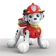 "Paw Patrol - Zoomer - Marshall - Spin Master - Toys ""R"" Us"