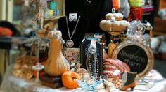 Autumn display Boutique Store Displays, Boutique Stores, Autumn Display, Table Decorations, Home Decor, Decoration Home, Room Decor, Clothing Boutiques, Home Interior Design