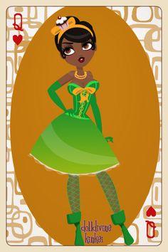 Princess and the Frog by snowonia22.deviantart.com