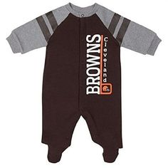 Compare prices on Cleveland Browns Baby Sleepers from top sports fan gear  retailers. Save money when buying football team baby apparel and  accessories. 54791458c