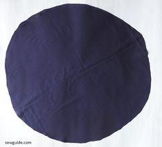 Flutter sleeved Top : Sewing pattern & tutorial - Sew Guide Sleeves Designs For Dresses, Sleeve Designs, Sewing Basics, Sewing Class, Clothing Patterns, Sewing Patterns, Top Pattern, Sleeve Pattern, Blouse Tutorial