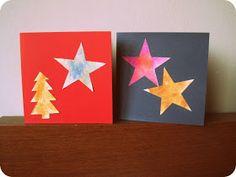 Effie maakt: kerstkaarten met de kinderen Christmas Crafts, Christmas Decorations, Xmas, Kids Songs, Jaba, Crafts For Kids, Card Making, December, Cards